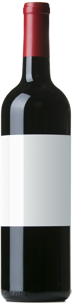 Bouteille de vin de bordeaux