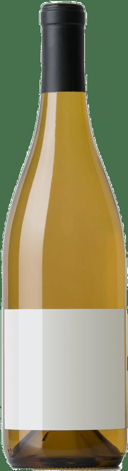 Bouteille de vin blanc de Bourgogne
