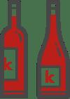 Bouteille de vin - Kubavin